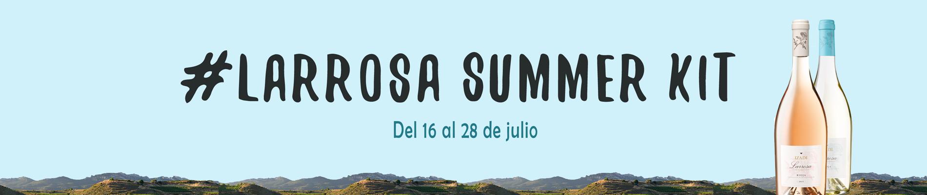 Larrosa summer kit banner
